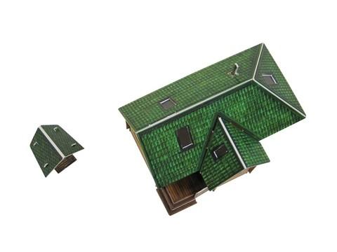 Дачный домик Сборная модель из картона
