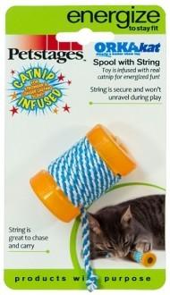 "Petstages Игрушка для кошек Petstages Energize ""ОРКА катушка с веревочкой"" 6 см f630bc77-f88f-11e0-9493-003048cfeba7_2.jpg"