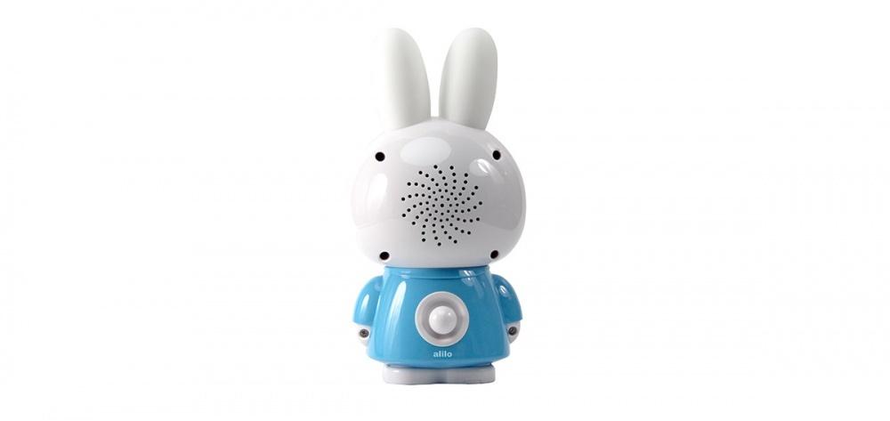 Alilo игрушка музыкальная Медовый зайка G6 голубой