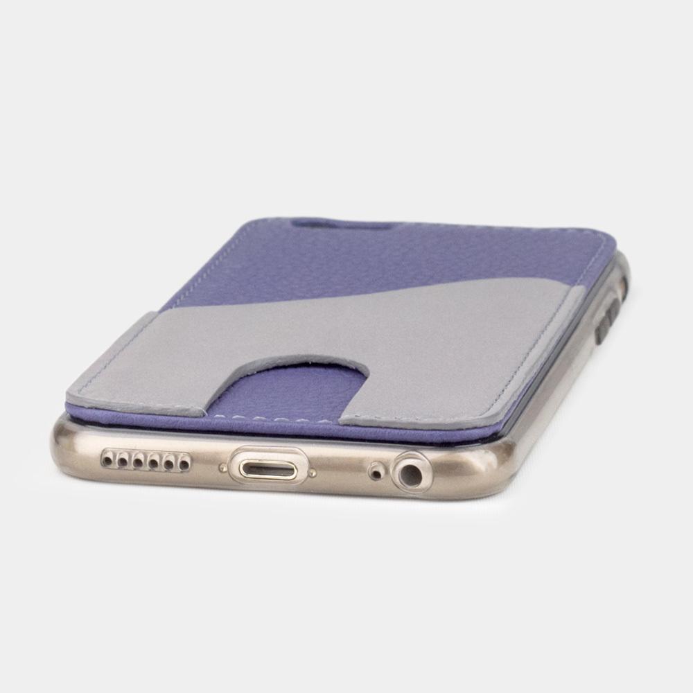 Чехол-накладка Andre для iPhone 6/6s Plus из натуральной кожи теленка, цвета сирени