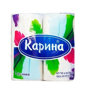 Бумажные полотенца «Перья», 1пачка
