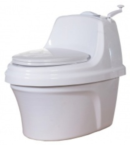 Туалет торфяной компостирующий Piteco 400
