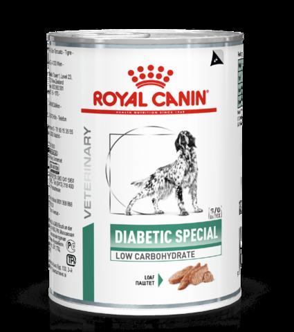 Royal CANIN DIABETIC SPECIAL для взрослых собак при сахарном диабете (410 гр)