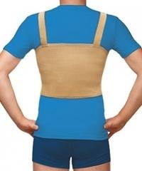 Бандаж фиксирующий по линии груди мужской