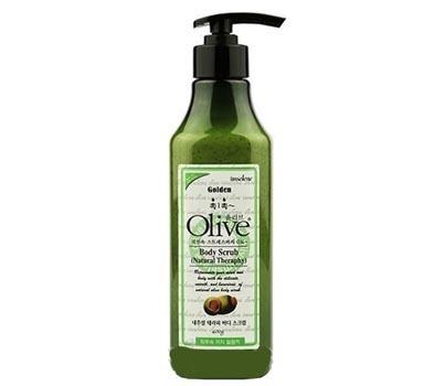 Увлажняющий скраб для тела с экстрактом оливы Mira Cosmetics Olive Body Scrub Natural (400g)