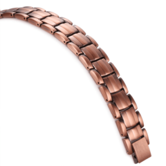 Медный магнитный браслет