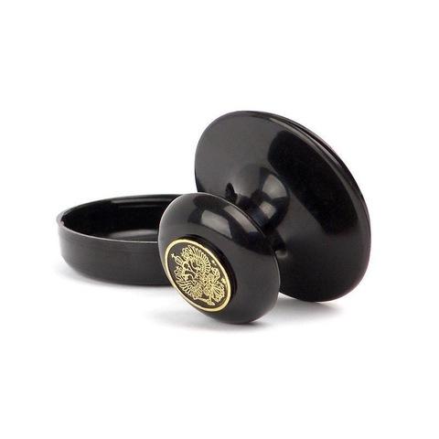Оснастка для печати круглая Colop 45 мм с крышкой черная