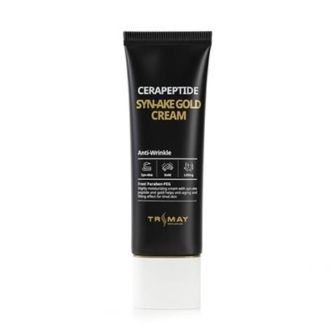 TRIMAY Крем регенерирующий с керамидами и змеиным пептидом Cerapeptide Syn-Ake Gold Cream 50 г