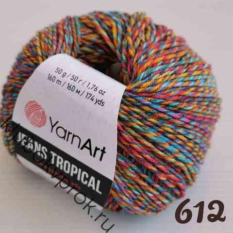 YARNART JEANS TROPICAL 612,