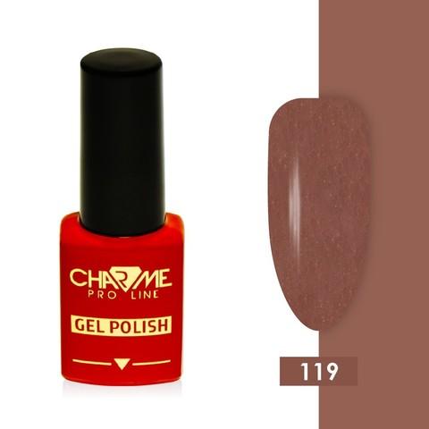 Гель-лак 119 - молочный шоколад Charme 10 мл