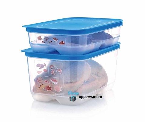 Контейнер Умный холодильник 1,8л и 4,4л для мяса и рыбы рис.2