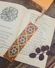 Dəri əlfəcin \  Кожаная закладка \ Leather bookmark (sarı)