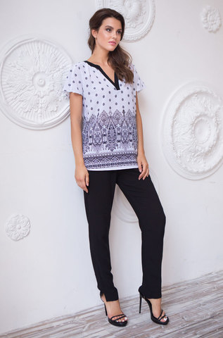 Комплект  женский с брюками  MIA-MIA  Leona ЛЕОНА 16216