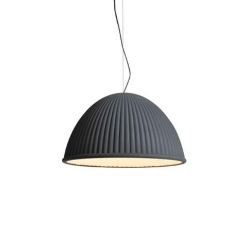Подвесной светильник копия Under The Bell by Muuto (темно-серый)