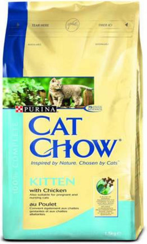 Cat Chow Для котят с курицей (kitten with chicken) 15 кг