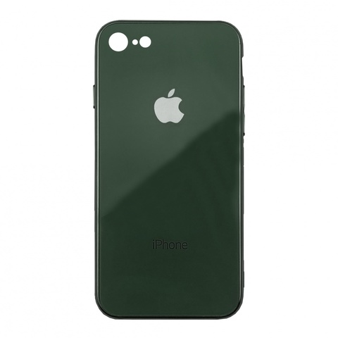 Чехол iPhone 6/6S Glass Case Logo /green/