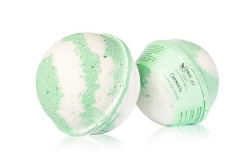Гейзер (бурлящий шарик) для ванн Свежесть, 120g ТМ ChocoLatte
