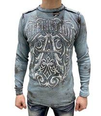 Пуловер Affliction CAUSEWAY CHALKBOARD