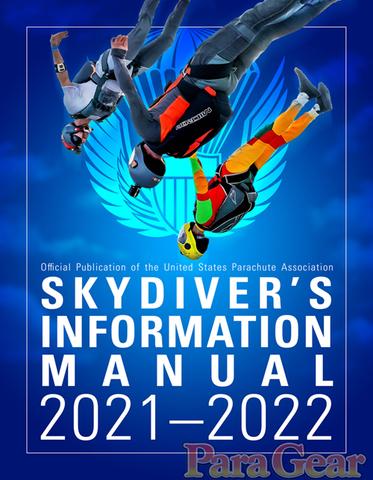 Книга SKYDIVERS INFORMATION MANUAL 2021-2022