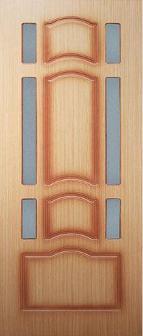 Дверь Ампир1 ДО (натуральный дуб, остекленная шпонированная), фабрика Румакс