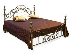 Кровать Виктория 200x140 (Victoria WF 9603) Античная медь