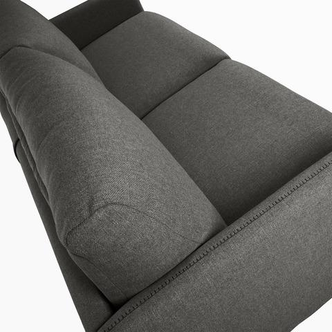 Диван-кровать Komoon 140 полиуретановый графит