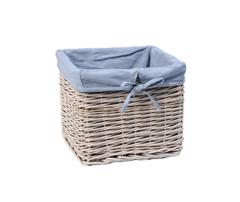 Плетеная корзина для ванной WasserKRAFT Lopau WB-320-M