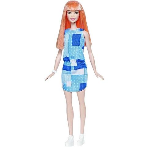Барби Fashionistas 60 в Джинсовом Платье Пэчворк