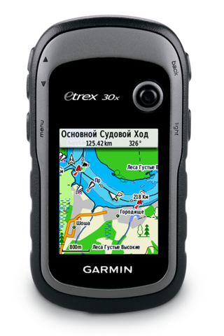 Навигатор Garmin eTrex 30x (010-01508-11)