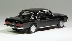 GAZ-3102 Volga black 1:43 DeAgostini Auto Legends USSR #35