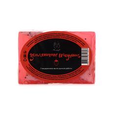 Мыло ручной работы (глицериновое) Земляничное искушение,100g ТМ Мыловаров