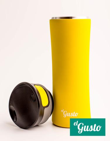 Термокружка El Gusto Primavera (0,47 литра), желтая