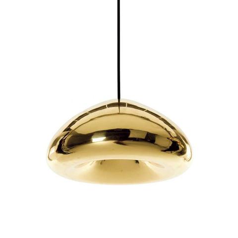 Подвесной светильник копия Void by Tom Dixon D30 (золотой)