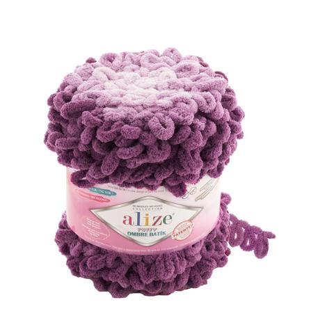 Купить Пряжа Ализе Пуффи Омбре Батик - цвет 7427 | Интернет-магазин пряжи «Пряха»