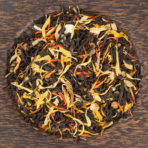 Черный десертный чай Апельсин с корицей ЧАЙ ИП Кавацкая М.А. 0,1кг