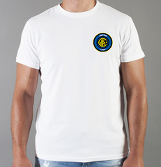 Футболка с принтом FC Internazionale (ФК Интернационале) белая 0015