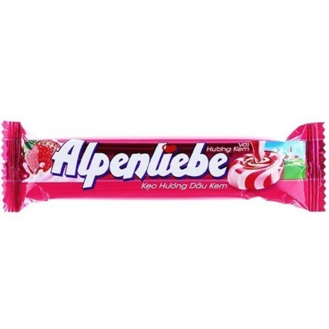Карамельные конфеты Alpenliebe strawberry 32 гр