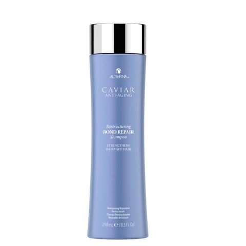 Alterna Реконструирующий восстанавливающий шампунь с экстрактом черной икры без сульфатов Caviar Anti-Aging Restructuring Bond Repair Shampoo