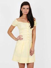 13485 платье желтое