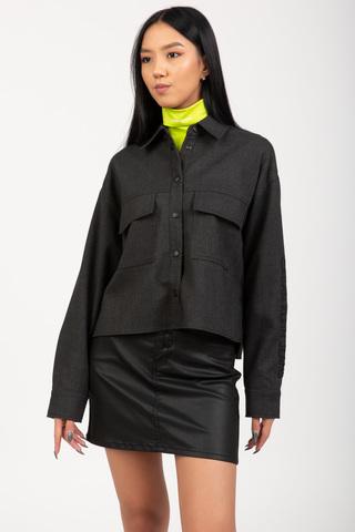 Рубашка FLANNEL BLEND OVERSHIRT Calvin Klein Jeans