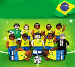 Минифигурки Футбольная команда Бразилии серия 378