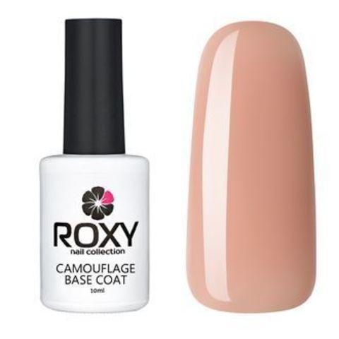 Камуфлирующее базовое покрытие ROXY nail collection К14 rubber - бежевая (10 ml)