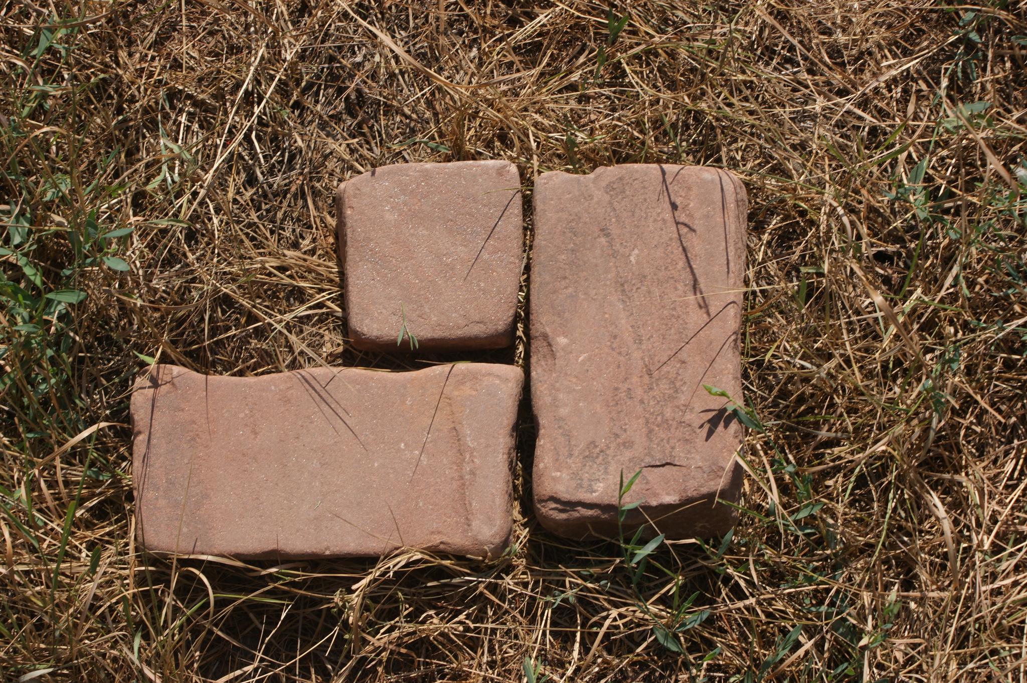 Брусчатка песчаник галтованный Красная Площадь образец