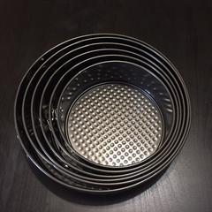 Металлическая разъемная форма для выпечки  СО СЪЕМНЫМ ДНОМ (Набор из 6 форм. Диаметр: 18см, 20см, 22см, 24см, 26см, 28см.)