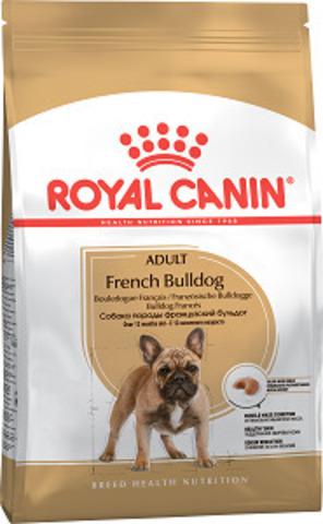 Royal Canin French Bulldog Adult сухой корм для французских бульдогов старше 12 месяцев