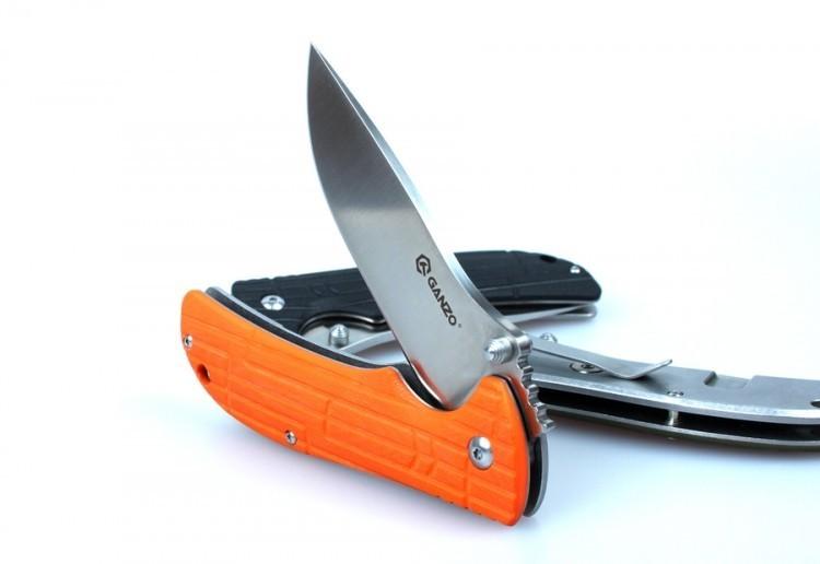 Нож Ganzo G723M оранжевый