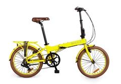 складной велосипед Shulz Easy желтый
