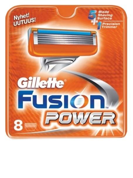 Gillette Fusion Power 8шт