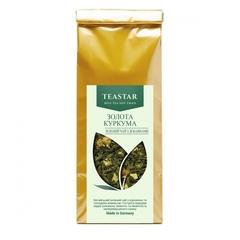 Золотая куркума, зеленый чай, 50 г