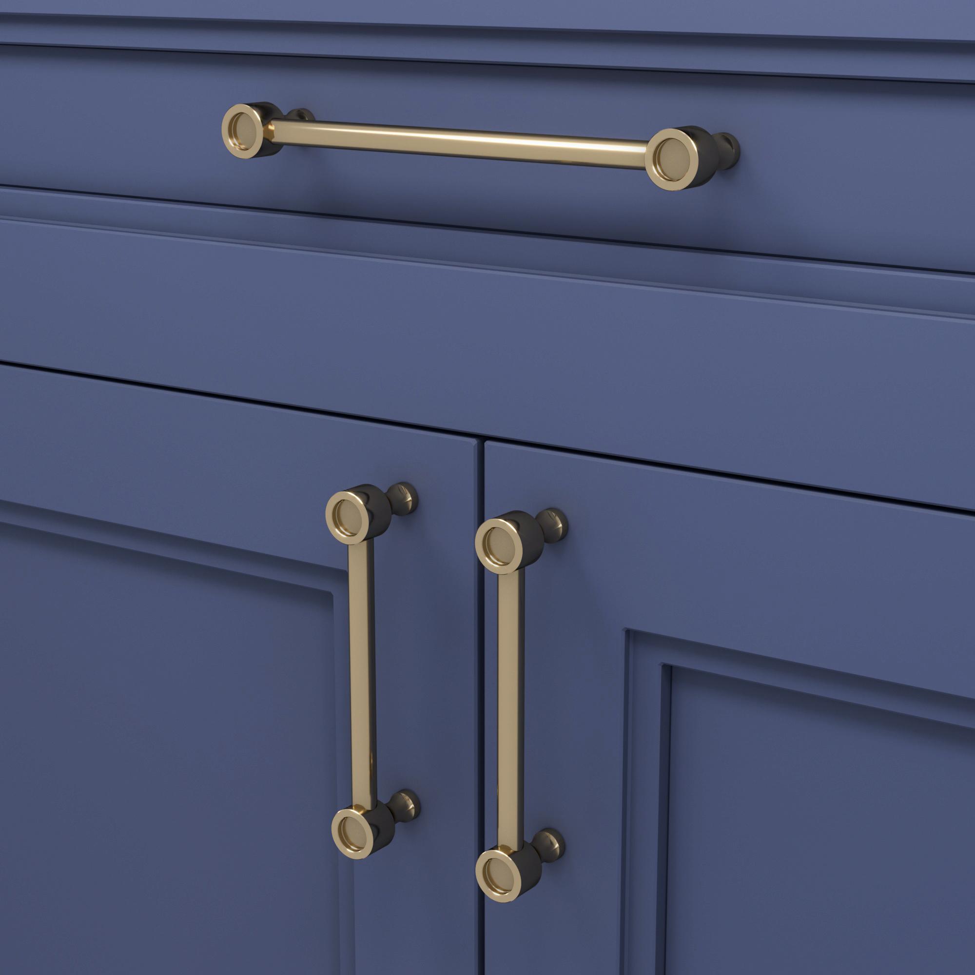 Скоба Snowdrop / Polished Lacquered Brass